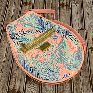 Lilly Pulitzer Tennis Racquet Cover NWOT